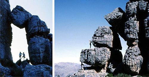1974 hiking cederberg cape mountains