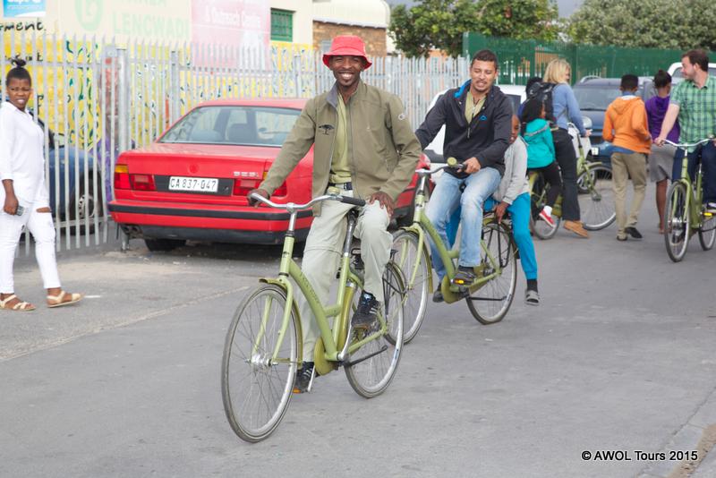cycling masiphumelele township