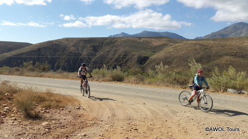 AWOL Tours Garden route mointain biking