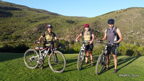 AWOL garden route mountain biking Eagle Falls