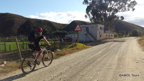 AWOL garden route mountain biking
