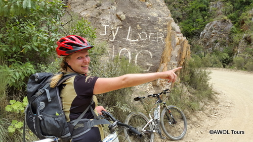 AWOL Prins Alfred Pass garden route mountain biking