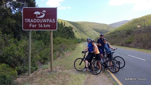 Cycling Garden Route Tradouw Pass