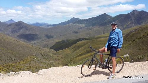 Cycling Garden Route Robinson Pass