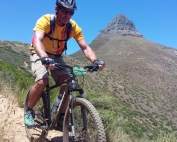 Mountain Biking on Signal Hill Cape Town