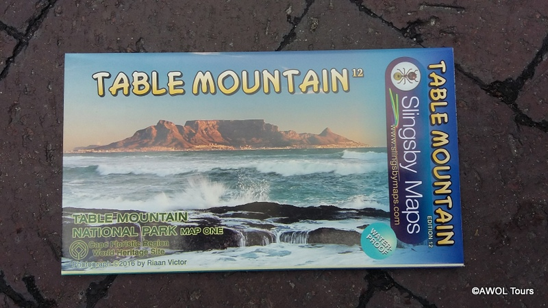 Slingsby map Table Mountain