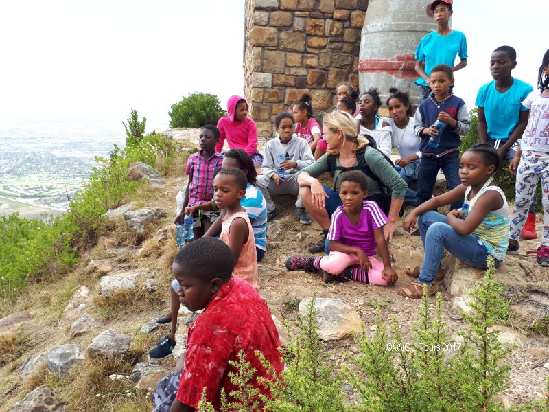 2017-03-18 hiking kids westalke silvermine cape town