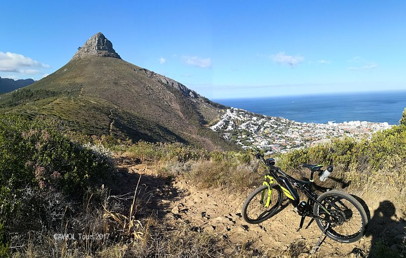 cape town electric mountain biking