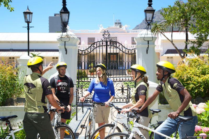 AWOL cape town city cycle tour company gardens VOC