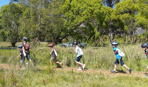 AWOL kids bike treasure hunt 3