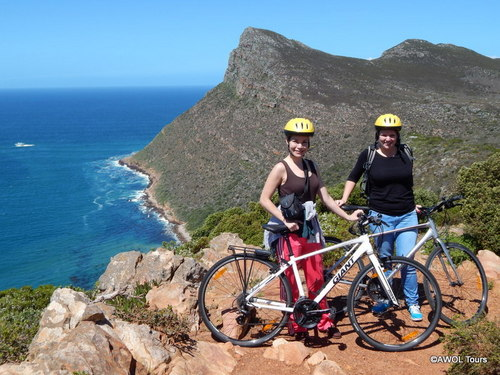 Cycling in Cape Point