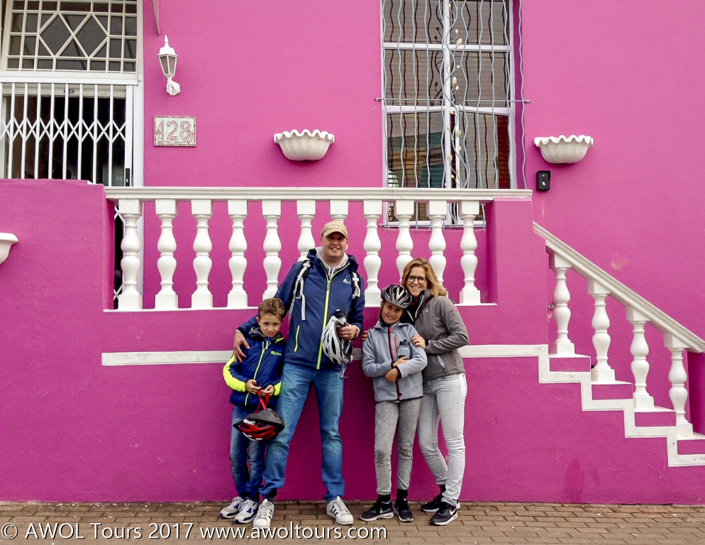 City cycling tour with kids - BoKaap - AWOL Tours - www.awoltours.co.za