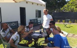 Constantia Winelands recce uitsig winetasting