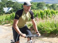Dave Kruger winelands cycling guide
