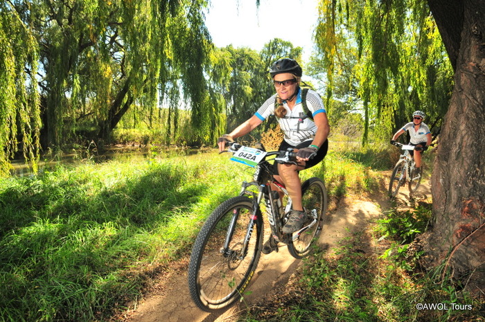 awol going joberg2c Day 3 Jabulani single track on Wilge river