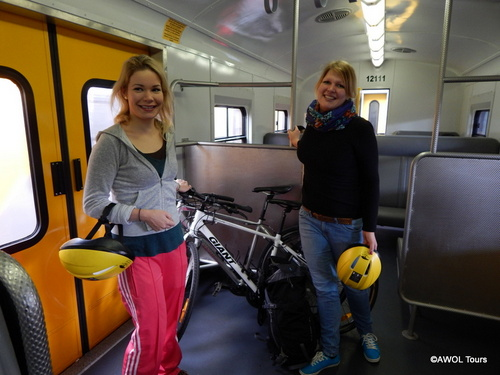 AWOL rental bicycles can now be taken on the train in Cape Town