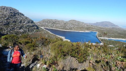 Hiking Kasteelspoort on Table Mountain (1)