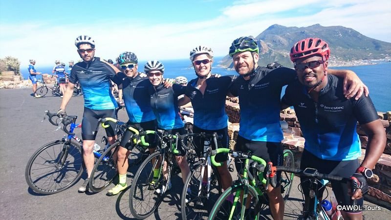 Cycling on Chapman's Peak DC training rides