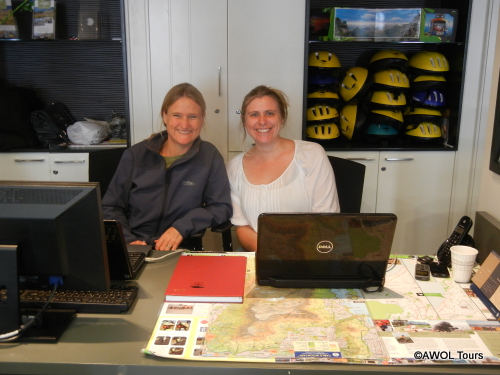 Sally-Helen-in-office