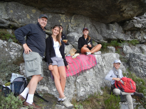 Picnic on Table Mountain AWOL Tours