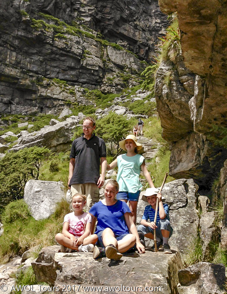Table Mountain with kids - AWOL Tours - www.awoltours.co.za