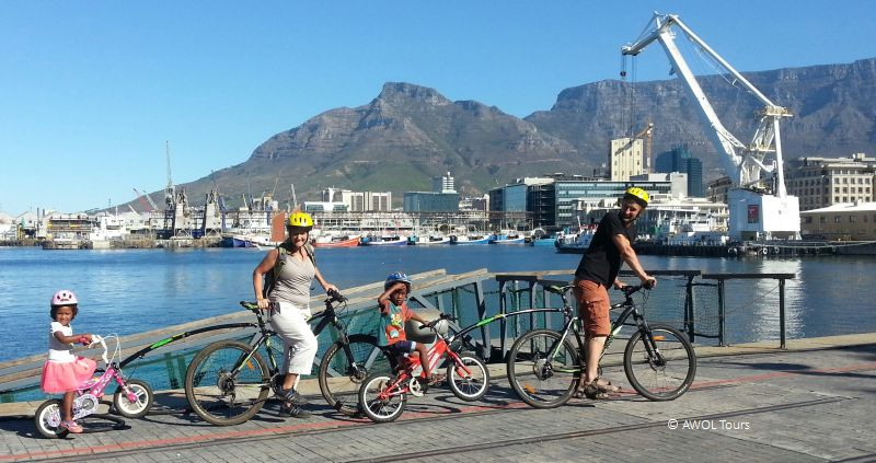 bicycle kids trailer Waterfront Cape Town