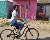bicycle township tour masiphumelele