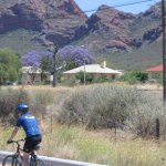 cycling in karoo - owen