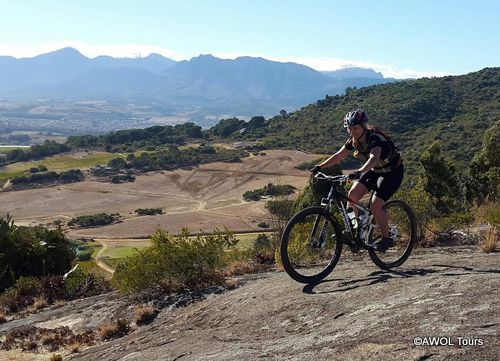 AWOL Sally on Paarl Mountain