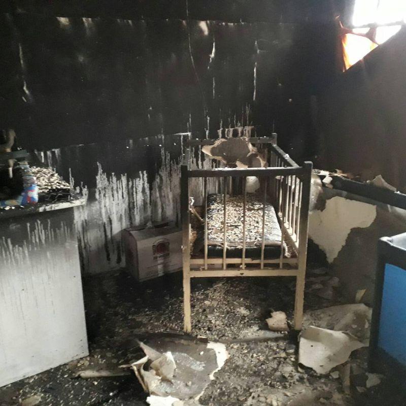 masivelani creche burnt cot