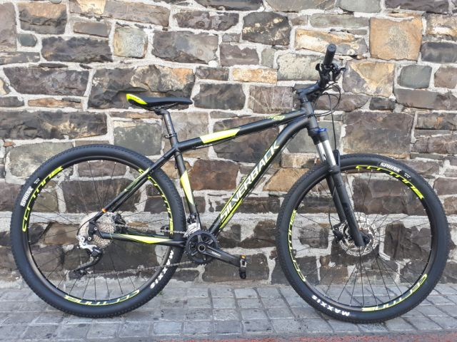 silverback mountain bike