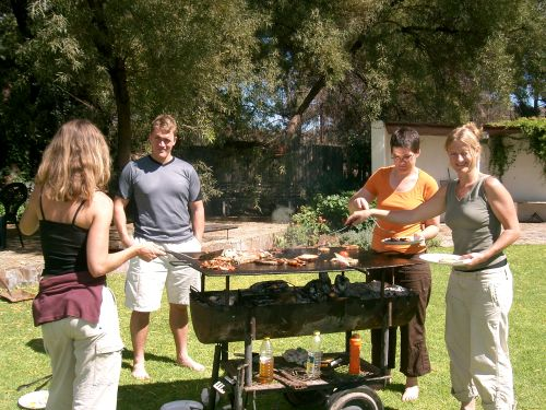 south african traditional braai breakfast