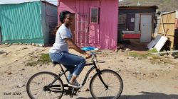 township bicycle tour in masiphumelele